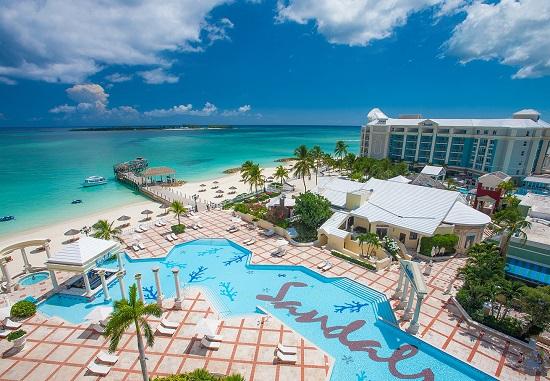 Bahamas Nassau Sandals Beach Resort